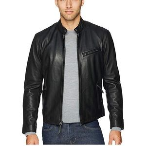 Ralph Lauren Lamb Skin 100% Leather Jacket